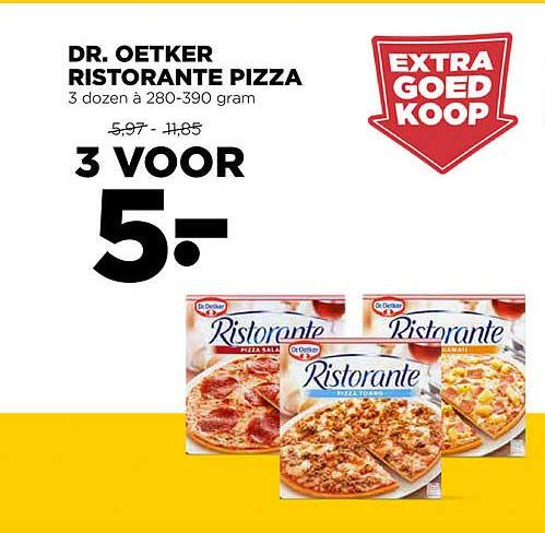 Jumbo Dr. Oetker Ristorante Pizza