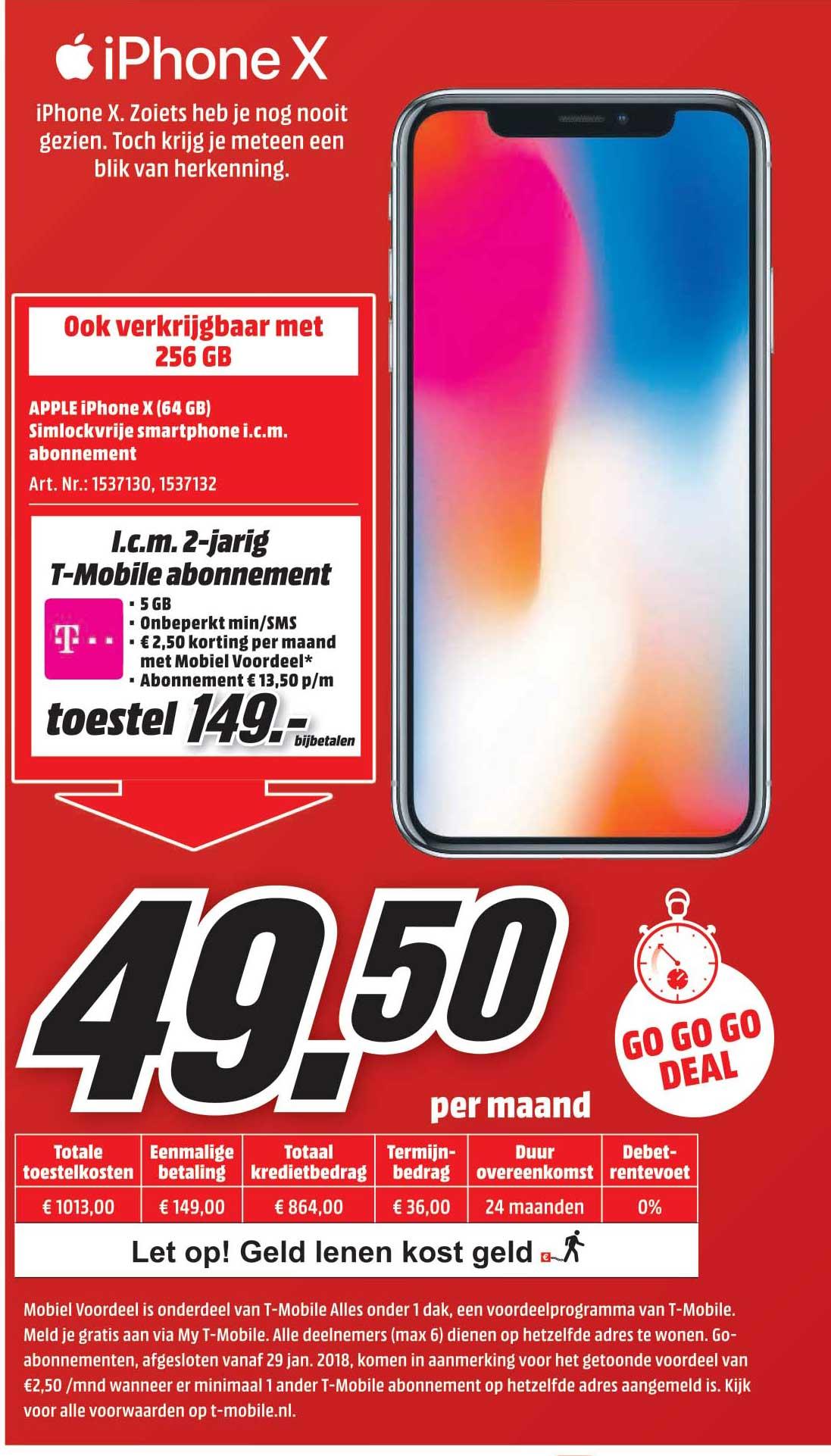 MediaMarkt Apple Iphone X (64 GB)
