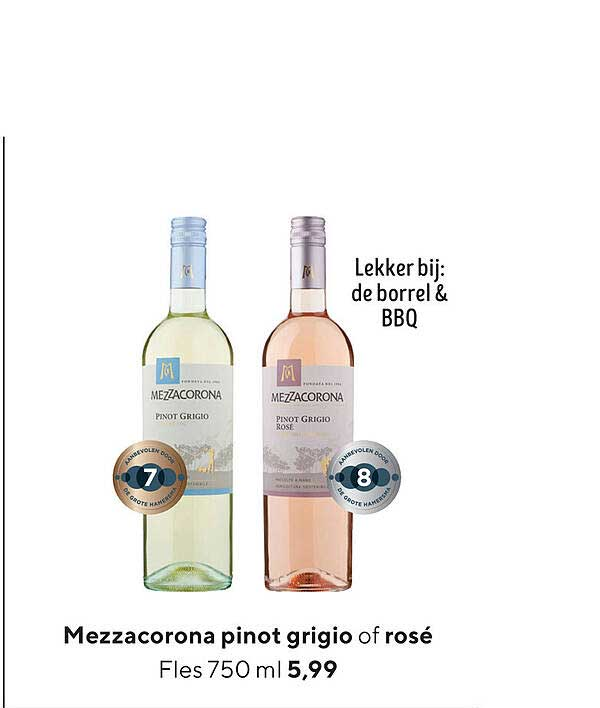 Jumbo Mezzacorona Pinot Grigio Of Rosé