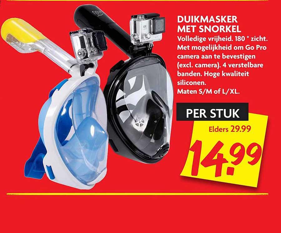 DekaMarkt Duikmasker Met Snorkel