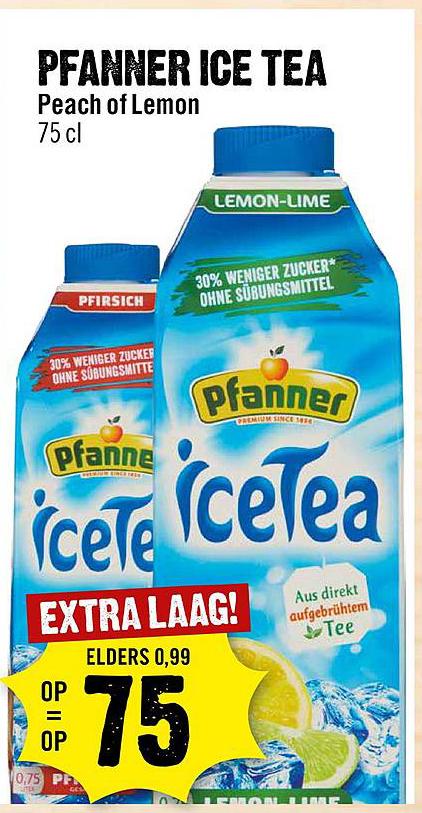 Dirck III Pfanner Ice Tea