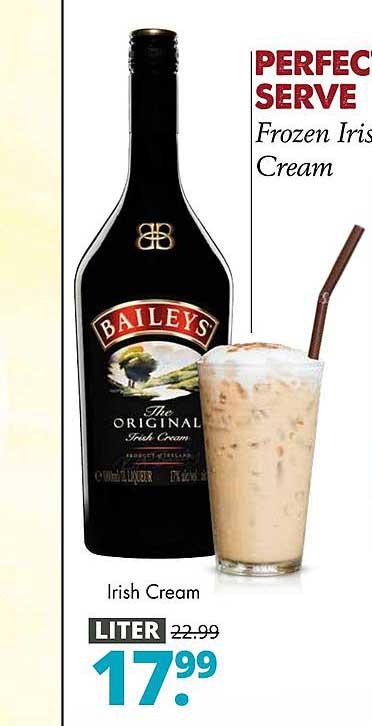 Mitra Bailey's The Original Irish Cream