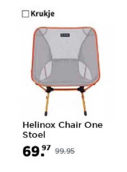 Bever Helinox Chair One Stoel