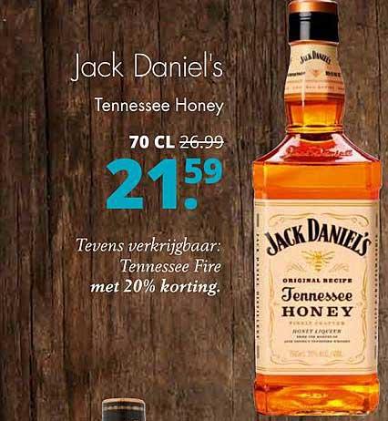 Mitra Jack Daniel's Tennessee Honey