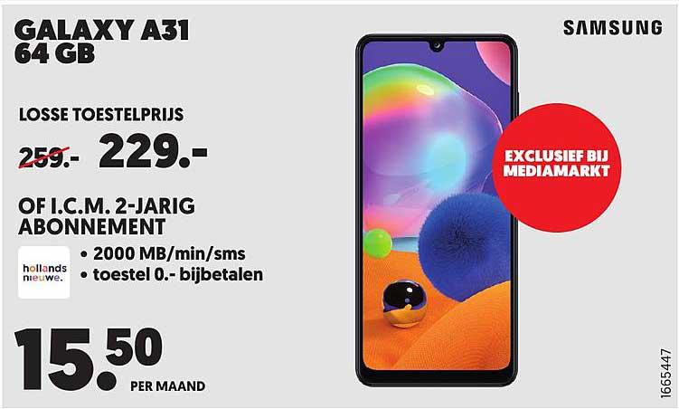MediaMarkt Samsung Galaxy A31 64 GB