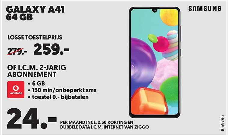 MediaMarkt Samsung Galaxy A41 64GB