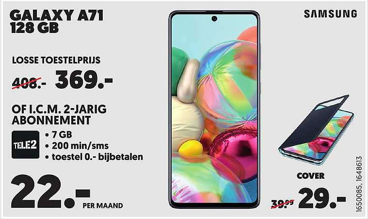 Mediamarkt Samsung Galaxy A71 128 GB
