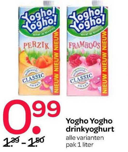 Spar Yogho Yogho Drinkyoghurt
