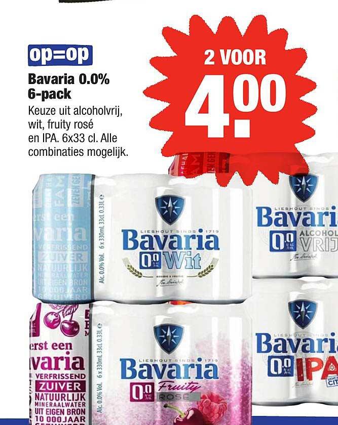 ALDI Bavaria 0.0% 6-Pack