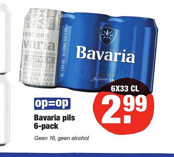 ALDI Bavaria Pils 6-Pack