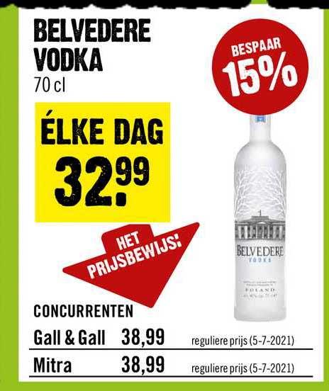 Dirck III Belvedere Vodka