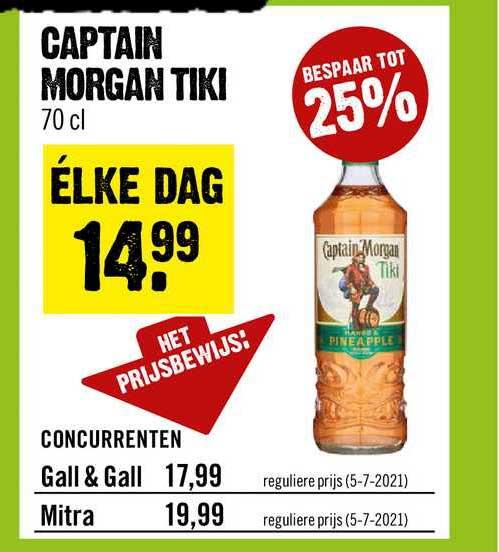 Dirck III Captain Morgan Tiki