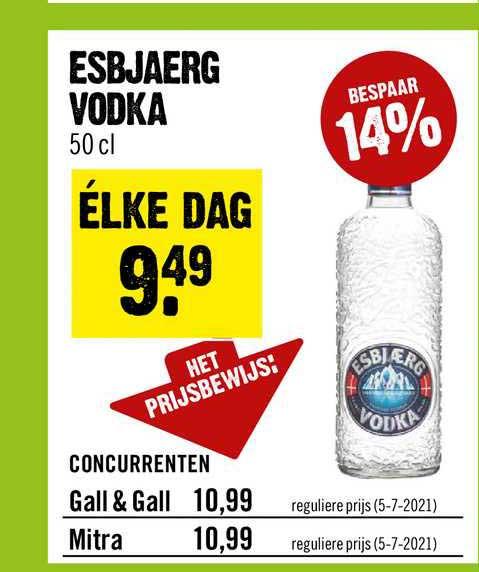 Dirck III Esbjaerg Vodka