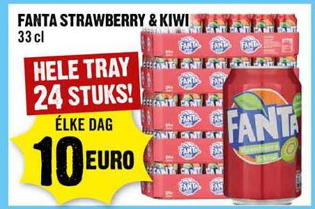 Dirck III Fanta Strawberry & Kiwi