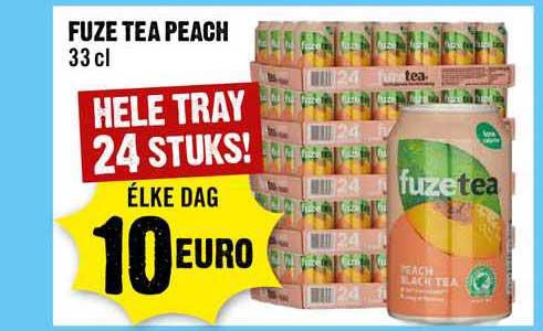 Dirck III Fuze Tea Peach