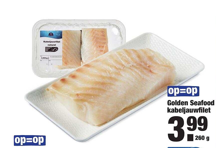 ALDI Golden Seafood Kabeljauwfilet