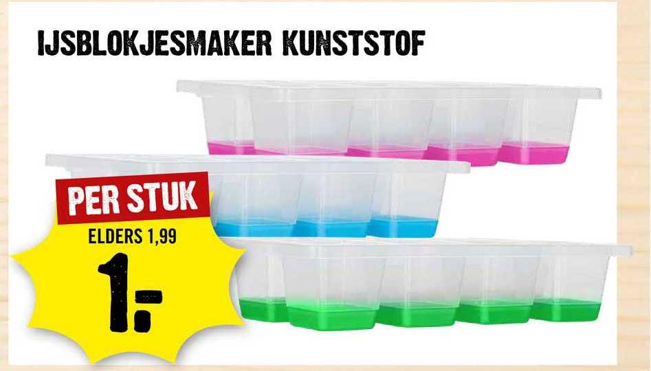Dirck III Ijsblokjesmaker Kunststof