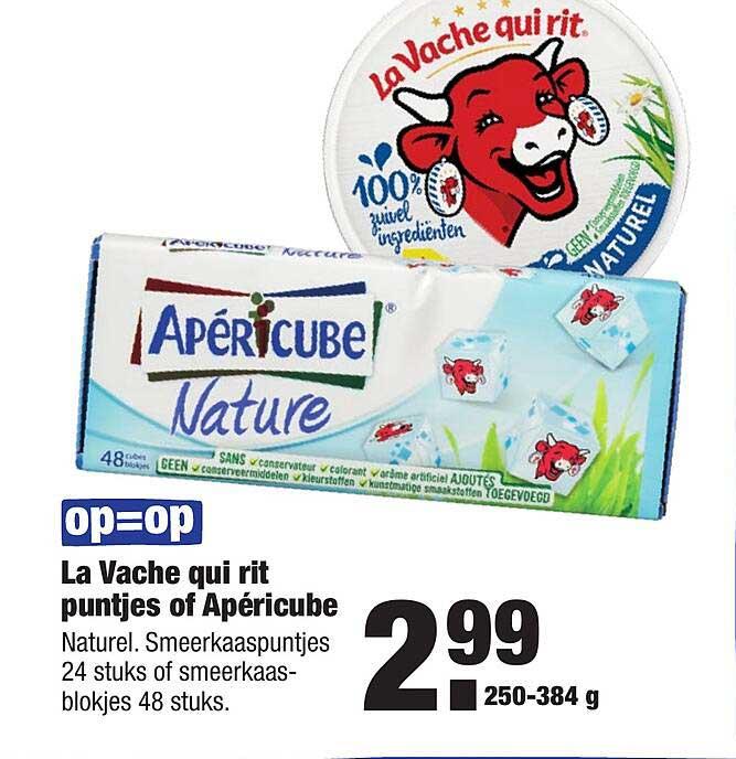 ALDI La Vache Qui Rit Puntjes Of Apéricube