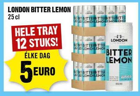 Dirck III London Bitter Lemon