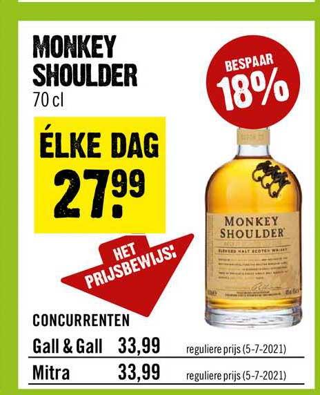 Dirck III Monkey Shoulder