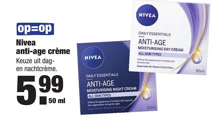 ALDI Nivea Anti-Age Crème
