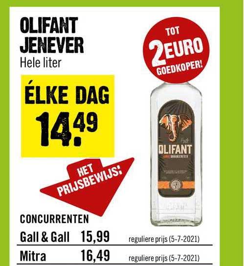 Dirck III Olifant Jenever