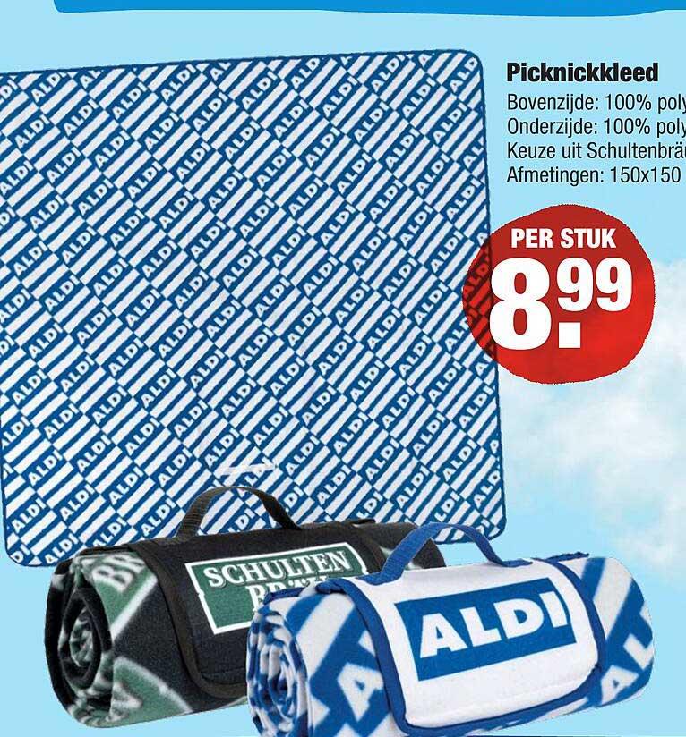 ALDI Picknickkleed