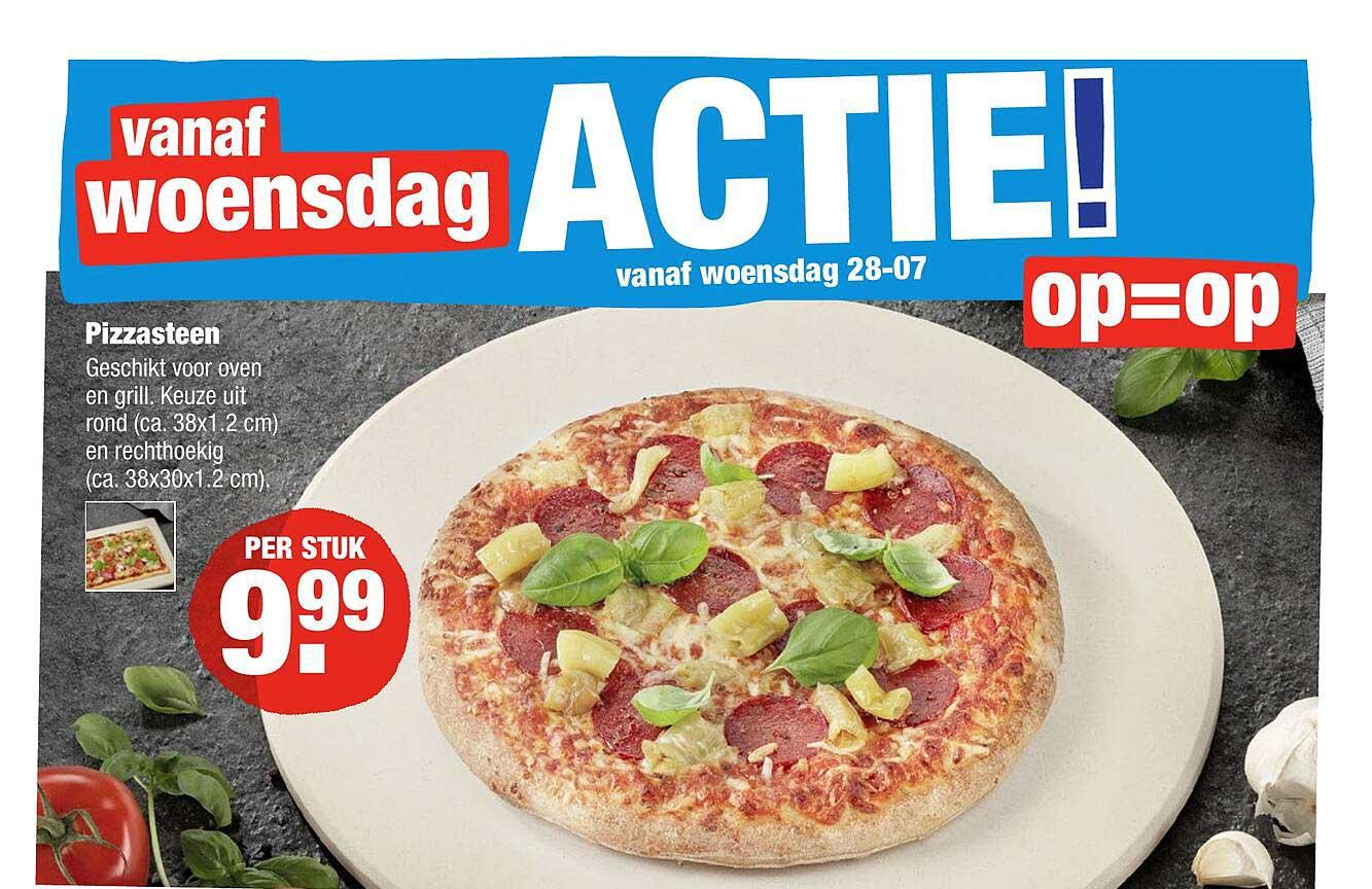 ALDI Pizzasteen