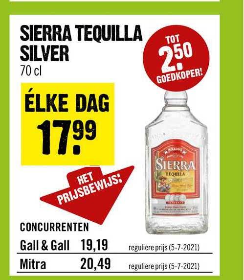Dirck III Sierra Tequilla Silver