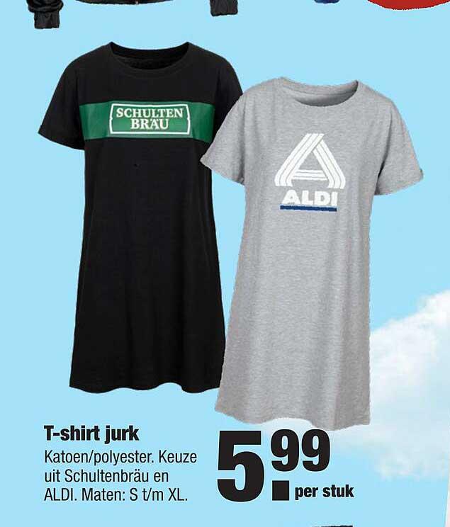 ALDI T-Shirt Jurk