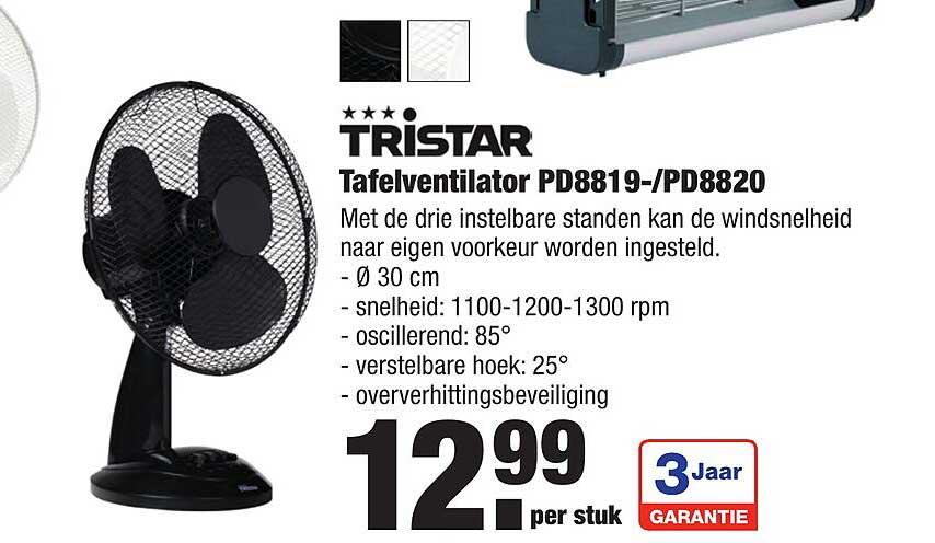 ALDI Tristar Tafelventilator PD8819--PD8820