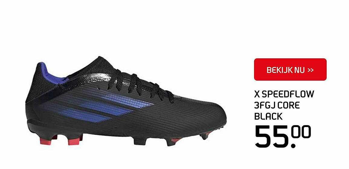 SPORT 2000 Adidas X Speedflow 3FGJ Core Black