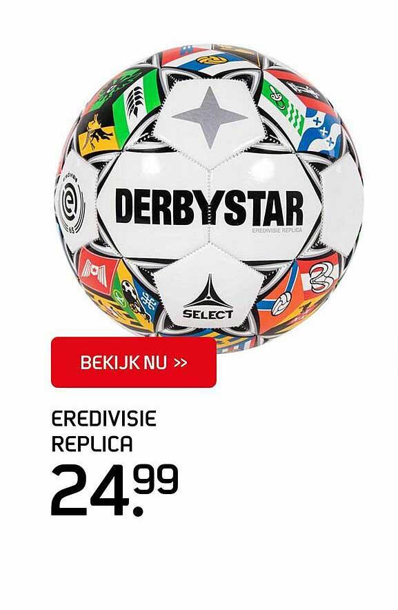 SPORT 2000 Derbystar Eredivisie Replica Bal