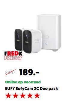 MediaMarkt Eufy EufyCam 2C Duo Pack