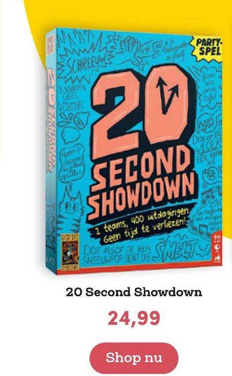 BookSpot 20 Second Showdown
