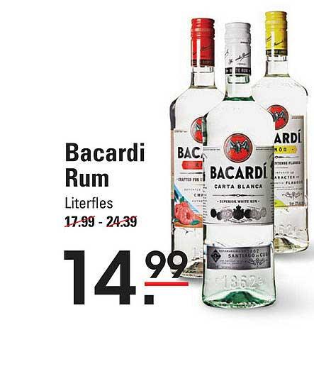 Sligro Bacardi Rum