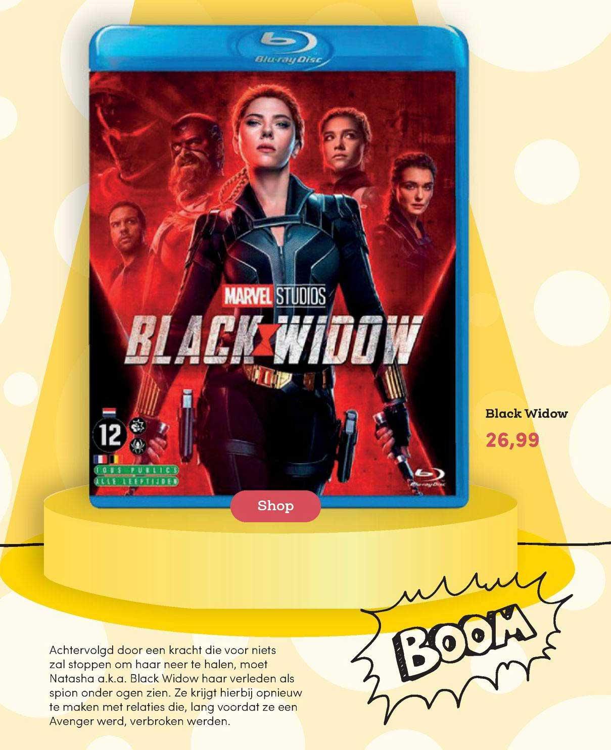 BookSpot Black Widow