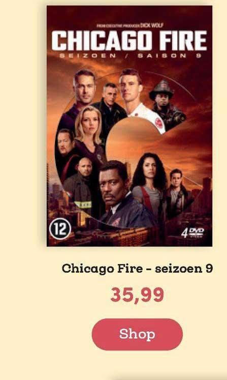 BookSpot Chicago Fire - Seizoen 9