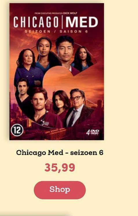 BookSpot Chicago Med - Seizoen 6