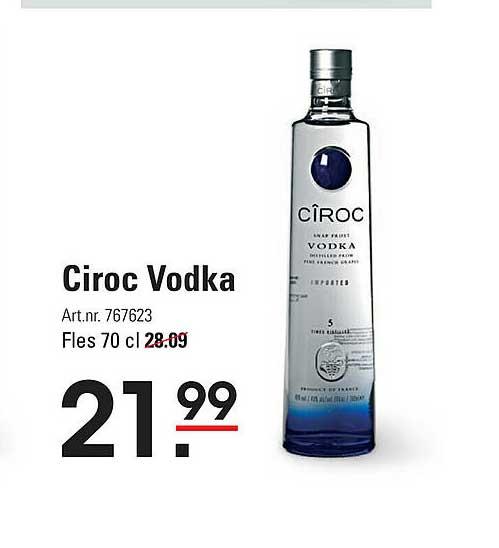 Sligro Ciroc Vodka