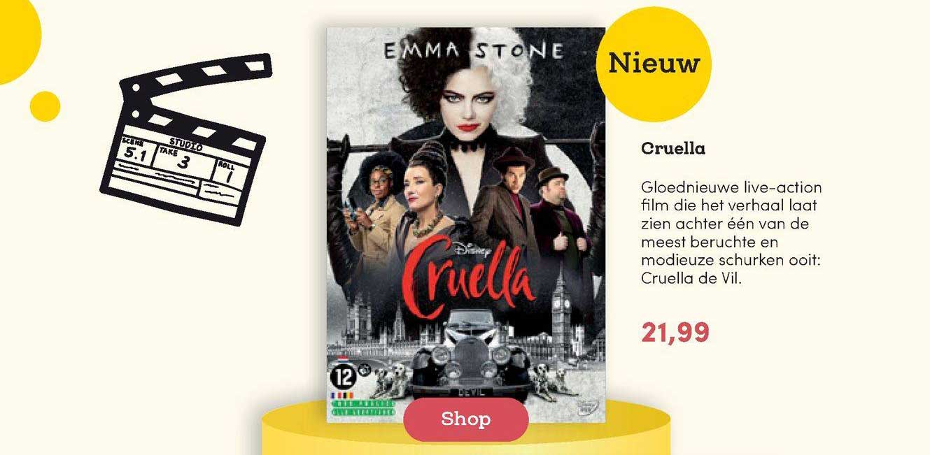 BookSpot Cruella