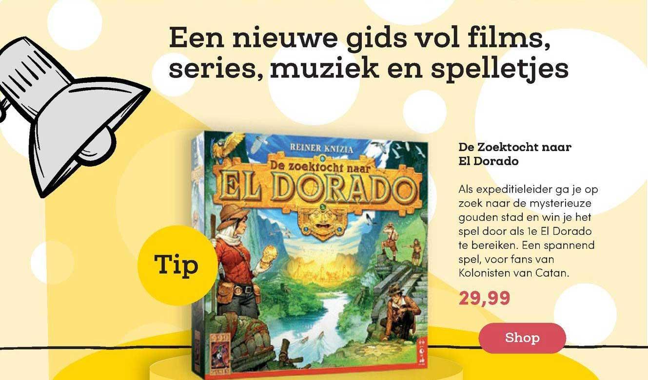 BookSpot De Zoektocht Naar El Dorado