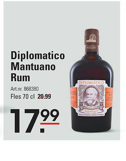 Sligro Diplomatico Mantuano Rum