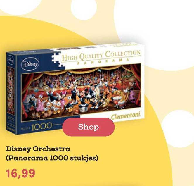 BookSpot Disney Orchestra (Panorama 1000 Stukjes)