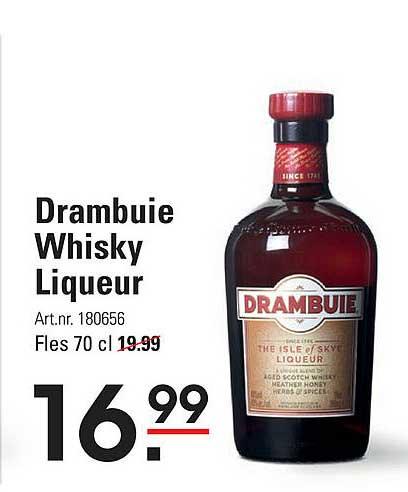 Sligro Drambuie Whisky Liqueur
