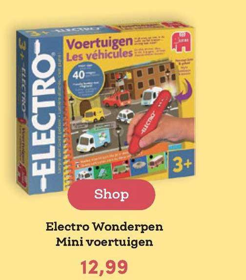 BookSpot Electro Wonderpen Mini Voertuigen