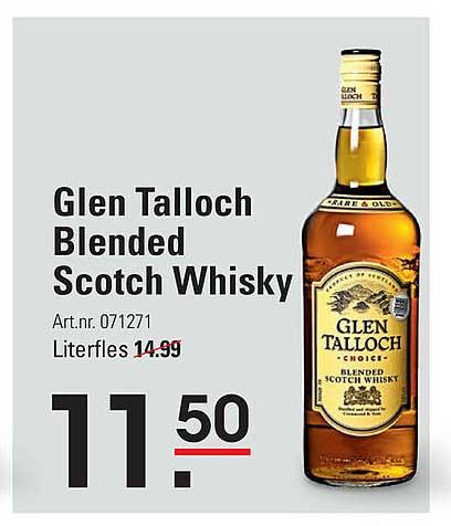 Sligro Glen Talloch Blended Scotch Whisky