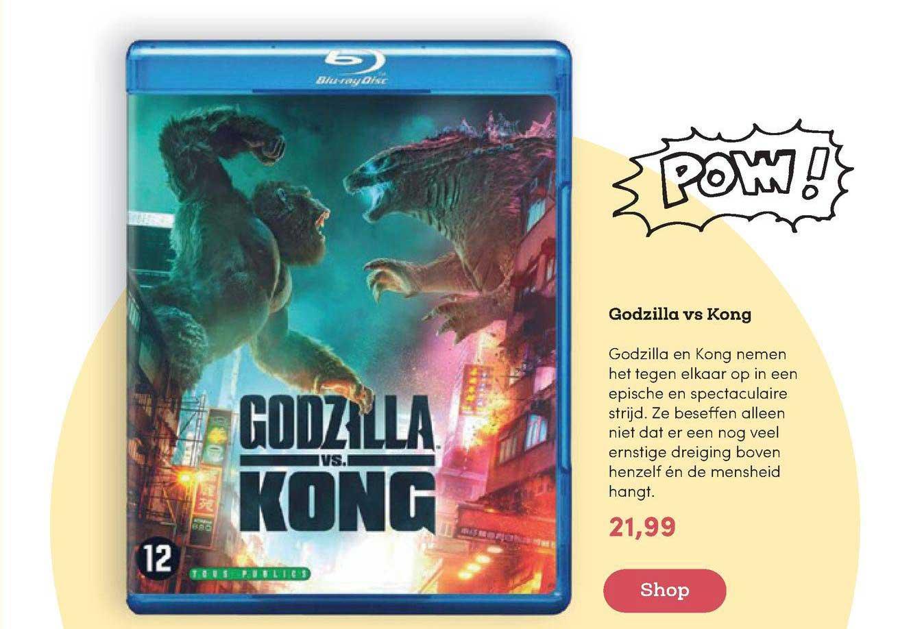 BookSpot Godzilla VS Kong