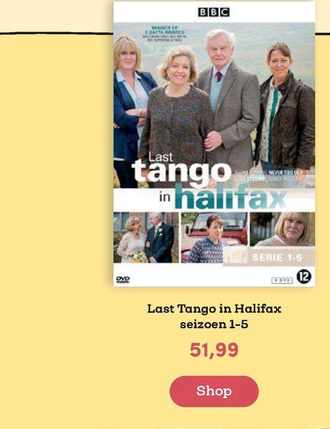 BookSpot Last Tango In Halifax Seizoen 1-5