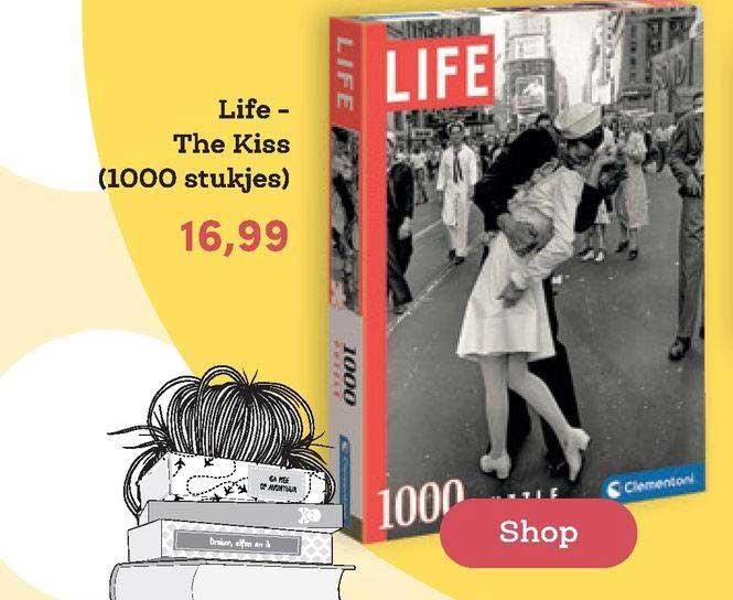 BookSpot Life - The Kiss (1000 Stukjes)